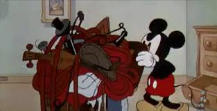 Mickey Mouse Packing Struggles GIF