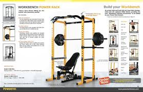 Review Powertec Power Rack PR11 and Utility Bench UB11
