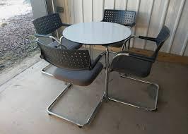runder tisch esszimmer oder bürostuhl visr 5er set