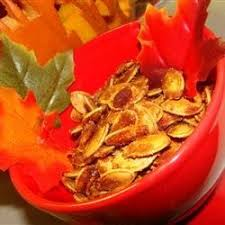Roasting Pumpkin Seeds In The Oven Cinnamon by Cinnamon Toast Pumpkin Seeds Recipe Allrecipes Com