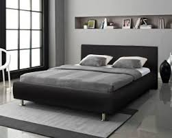 Black Leather Headboard Double by Best 25 Leather Double Bed Ideas On Pinterest Leather Bed