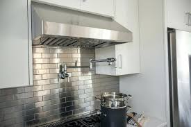 stainless steel wall tiles backsplash kitchen metal wall tile