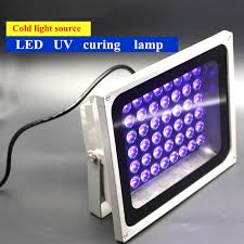 energy saving cold light source led uv curing noncaloric