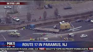 Traffic Update: Accident Cleared In #paramus On Nj-17 Nb Following ... Truck Accident Lawyer Nj Have You Been Injured In A Teacher Student Killed Horrific Accident Volving School Bus Driver Tanker Truck On New Jersey Turnpike Two Dead As Crashes With Triaxle Dump Collides And Overturns Onto Vehicle Sending Fedex Tractor Trailer Overturns Snarling Traffic Man Dies Crash With Ctortrailer Police Nbc Company Involved Deadly Crash Has Causes Big Delays On Route 78 Cbs Local Deli Meat Collides Bread Highway Mount Olive 80 School Dump