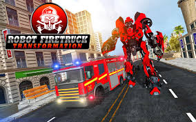 Firefighter Real Robot Rescue Fire Truck Simulator - Free Download ...