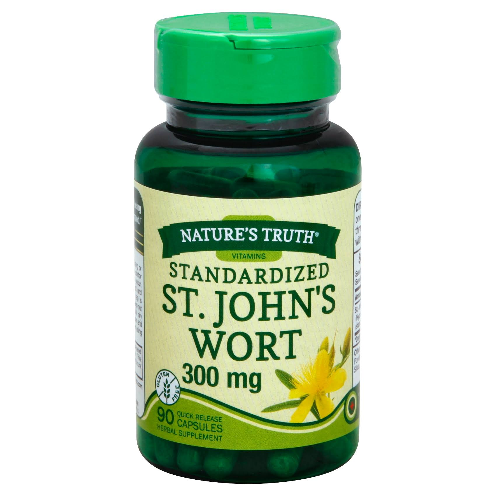 Nature's Truth St John's Wort Extract Herbal Supplement - 90ct
