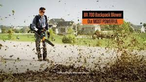 STIHL TV Commercial MS 170 Chain Saw And BR 700 Backpack Blower