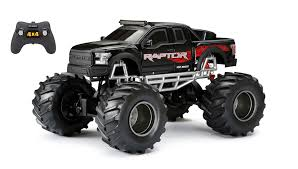 100 New Bright Rc Truck 18 Radio Control 4x4 Ford Raptor Black Walmart
