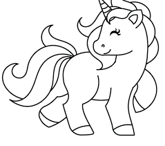 Unicorn Coloring Pages Realistic Free Picture To Color The Best