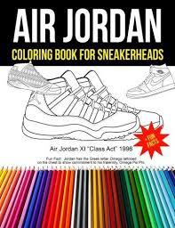 Air Jordan Coloring Book For Sneakheads