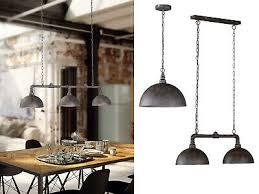 rost len im fabrik style retro esszimmerleuchten für zur küchenbeleuchtung ebay