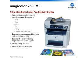 Magicolor 2590MF All In One Color Laser Productivity Center