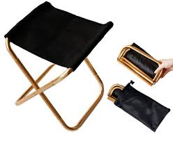 Amazon.com: Gold Mini Portable Folding Chair Stool With Pouch ... Folding Chair Stool Fniture Stools Fwefbgfk Vintage Canvas Camp Chairs Wooden Etsy Picking With Back Support Whosale Buy Morph White Simply Bar Woodland Camouflage Military Deluxe With Pouch Outdoor Fishing Seat For Breakfast Stools High Chairs In De13 Staffordshire For 600 Folding Camping Stool Walking Fishing Pnic Leisure Seat House By John Lewis Verona At Partners Anti Slip 2 Tread Safety Step Ladder Tool Camping Eastnor Jmart Warehouse