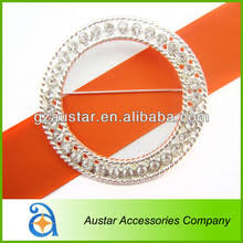 Diamante Chair Sash Buckles by Guangzhou Austar Garment Accessories Co Ltd Fix