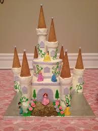 Creative Cakes N More Disney Princess Castle Cake