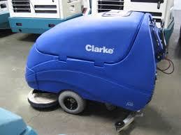 Clarke Floor Scrubber Pads by Clarke Encore 33 Floor Scrubber Used Walk Behind Automatic Scrubber