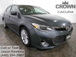 Toyota Avalon Floor Mats Replacement by Used Toyota Avalon For Sale In Cleveland Oh Edmunds