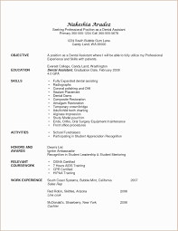 Dental Assistant Resume Sample Refrence Hygiene Template Valid Examples Denta Full Size
