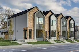 100 Modern Townhouse Designs Calgary Townhouse Breaks Record Price Row House