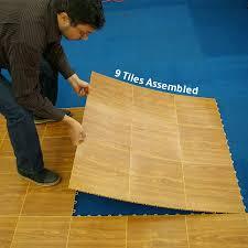 Portable Dance Floor Tile 9 Tiles Outdoor 3x3