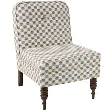 Burke Slipper Chair With Buttons by Furniture Dazzzling Slipper Chairs For Home Furniture Idea