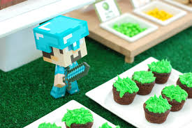 Terraria Chair And Table by Pure Joy Events Minecraft Birthday Party