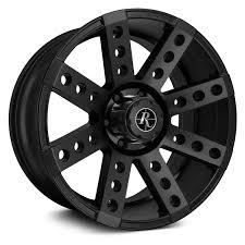 100 Truck Wheels And Tire Packages REMINGTON BUCKSHOT TRUCK Satin Black Rims