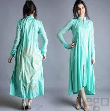 Latest Beautiful Casual Pakistani Dresses Designs 2017