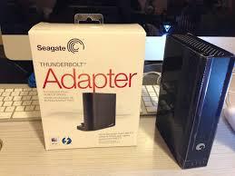 Seagate Goflex Desk Adapter Not Working by Fortysomething Geek Stae129 Seagate Thunderbolt Desktop Adapter