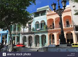 Colonial Architecture Paseo De Marti Aka Del Prado Old Havana La Habana Vieja Cuba Caribbean Sea Central America