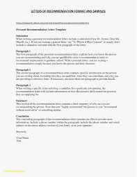 Reference Letter Sample Example Resume Format For Phd Candidate Awesome 2018
