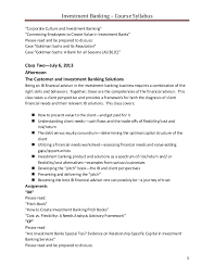 Investment Banking Internship Cover Letters