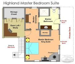 entrancing master bedroom floor plans concept a bathroom
