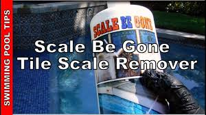scale be removes scale from pool tiles vinyl liners