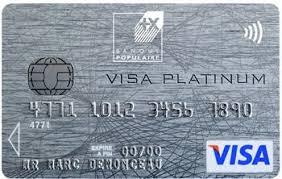 plafond debit carte visa visa platinum test et avis sur l internaute argent