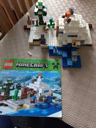 100 Lego Space Home Minecraft 21120 100 Complete