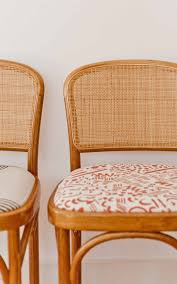 How To Reupholster A Fabric Seat Chair - Paper And Stitch
