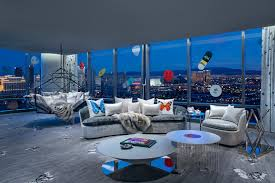 100 Palms Place Hotel And Spa At The Palms Las Vegas S Casino Unveils Penthouse Suite Designed By