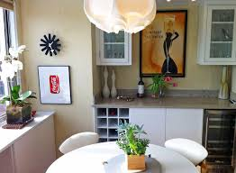 Nyc Interior Designer Dining Room Contemporary With Bar Built In Custom Image By Amber Freda NYC Garden Design