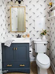 inexpensive bathroom refresh paint artwork accessories within