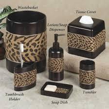 Safari Themed Living Room Decor by Jungle Themed Bathroom Accessories