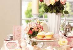 bridal showers and kitchen tea ideas and themes pink frosting