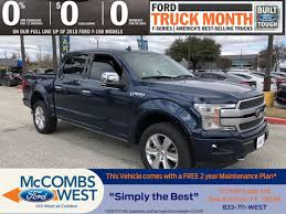 100 Ford Trucks Through The Years New 2019 F150 Platinum Crew Cab Pickup In San Antonio 990535