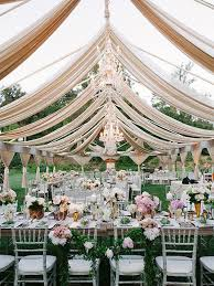 Glamorous Clear Tent Wedding Knot Blog