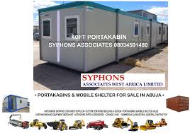 100 40 Ft Cargo Containers For Sale Syphons Associates West Africa Limited 10FT 20FT FT