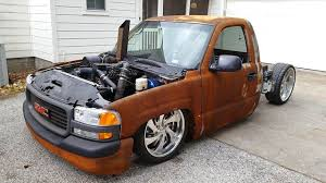 2001 GMC Sierra 12 Valve Cummins Rat Rod Air Ride Build Project ... 2018 Gmc Sierra 1500 Leasing In Watrous Sk Maline Motor Big Bright And Beautiful Jacob Andersons 2015 Denali 08 Silverado Move Bumper Build Youtube 2008 Laidout Legacy 2019 Debuts Before Fall Onsale Date Murdered Our With Black 22 Inch Wheels Blacked Flat Grey General Moters Pinterest These Are The 5 Bestselling Trucks Of 2017 The Motley Fool Review Car And Driver Building A Move Diy Prunner At4 Push Pickup Price Ceiling To New Heights