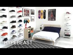 Furniture Ideas IKEAR And HYPEBEAST Design The Ideal Sneakerhead Bedroom