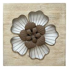Stratton Home Decor Metal Flower Wall From Kohls