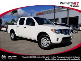 100 Used Nissan Frontier Trucks For Sale Certified 2018 Miami FL Hialeah
