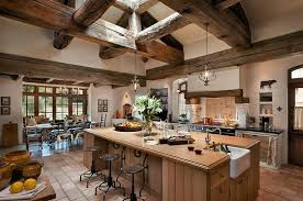 Rustic Style Kitchen Cabinets Cabin